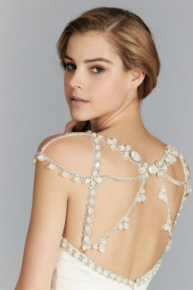 ... Showstopping Statement Back Wedding Dresses - Karen, Weddings Online