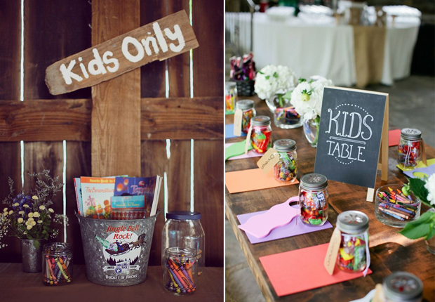 kids-only-table-wedding