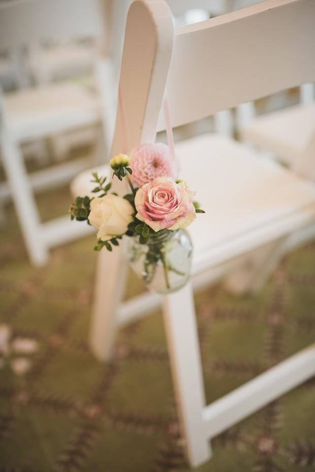 modern-wedding-pew-end-flowers