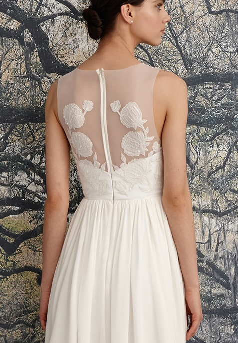 nicole-miller-spring-2016-bridal-scoop-neckline-sleeveless-flora-embroidered-sheath-wedding-dress-savannah-back-closeup