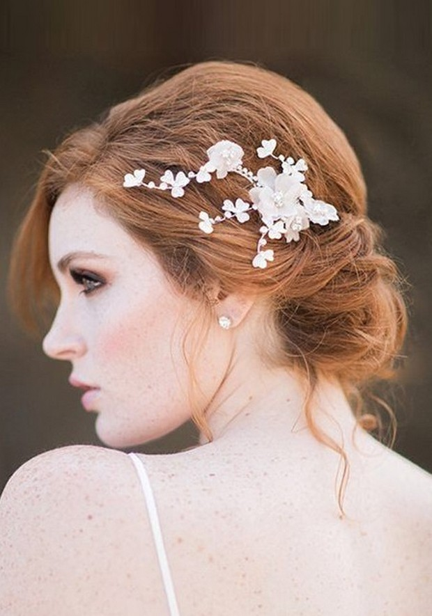 red-hair-bride-floral-headpiece