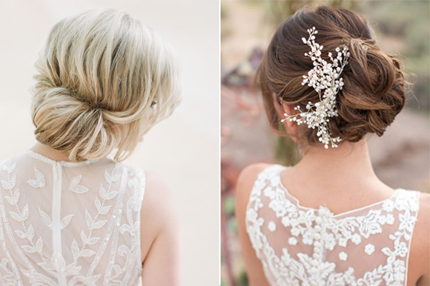 Romantic Bridal Hairstyle : Wedding hairstyles oh so romantic bridal updos