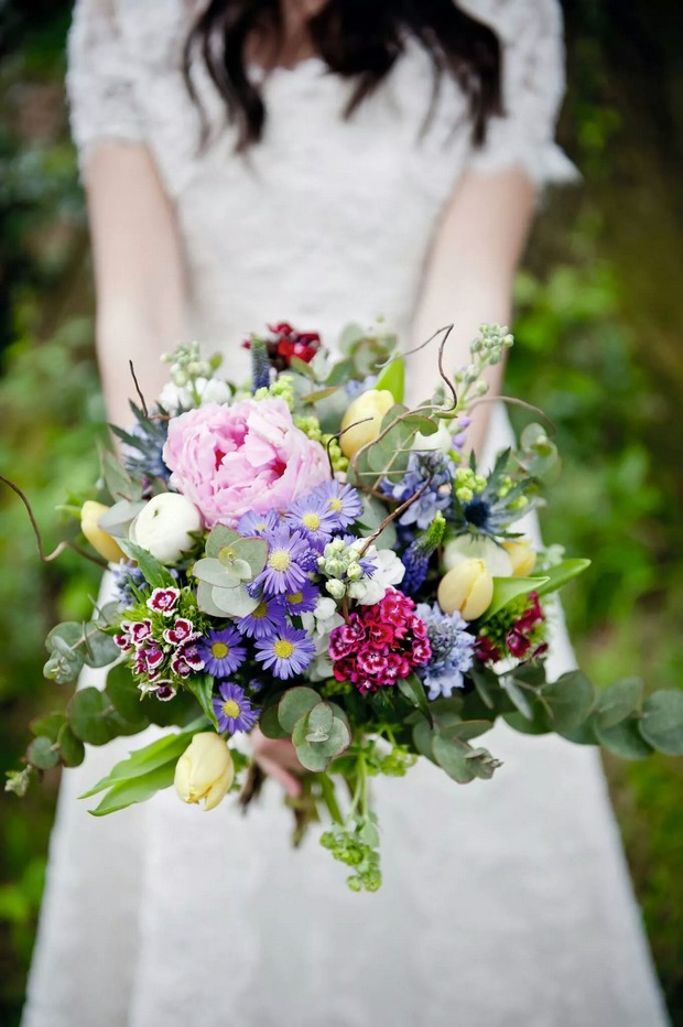 wildflower bouquets for weddings 22 autumn wedding bouquets you ll 1411