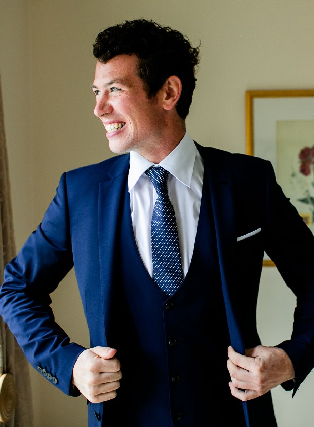 Navy Suit Groom | Wedding Ideas