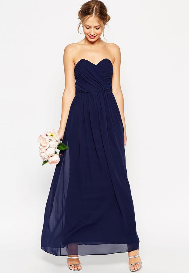 ASOS-wedding-bandeau-navy-bridesmaid-dress