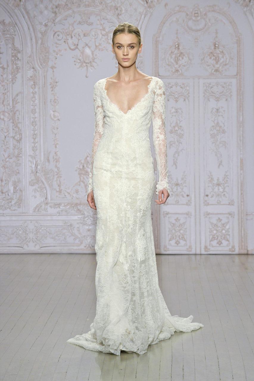Vestido-de-manga-larga-de-novia-Monique-Lhuillier-Otoño-2015