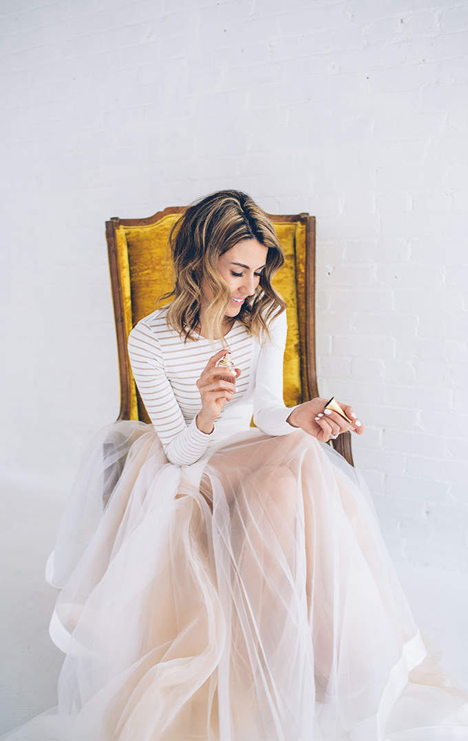 Falda-tul-top-rayas-hellofashionblog