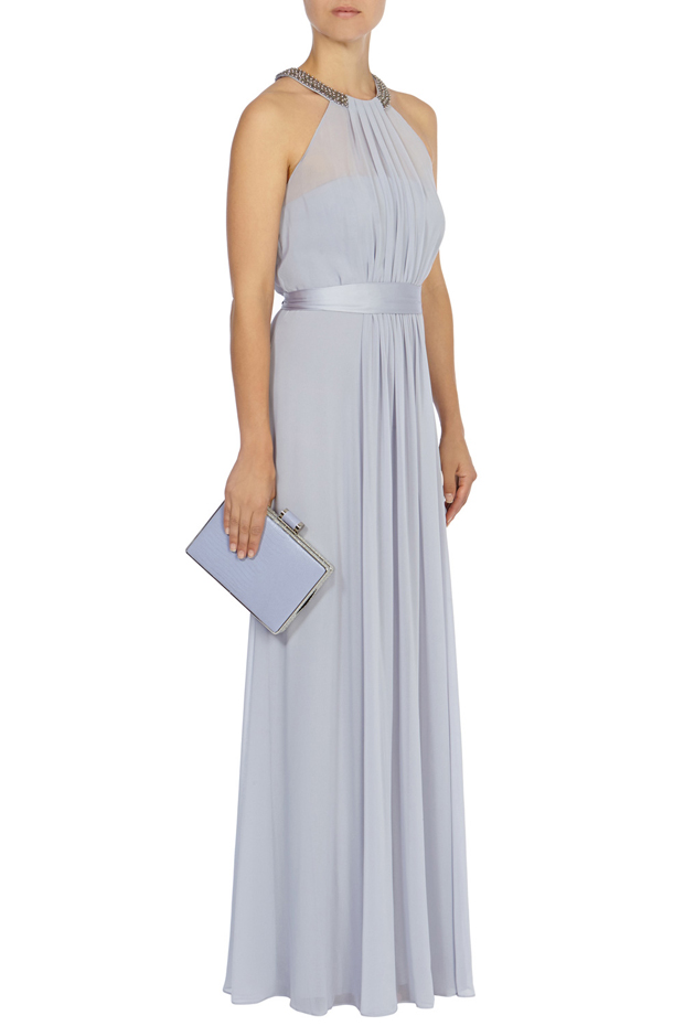 Coast Halterneck Grey Bridesmaid Dress