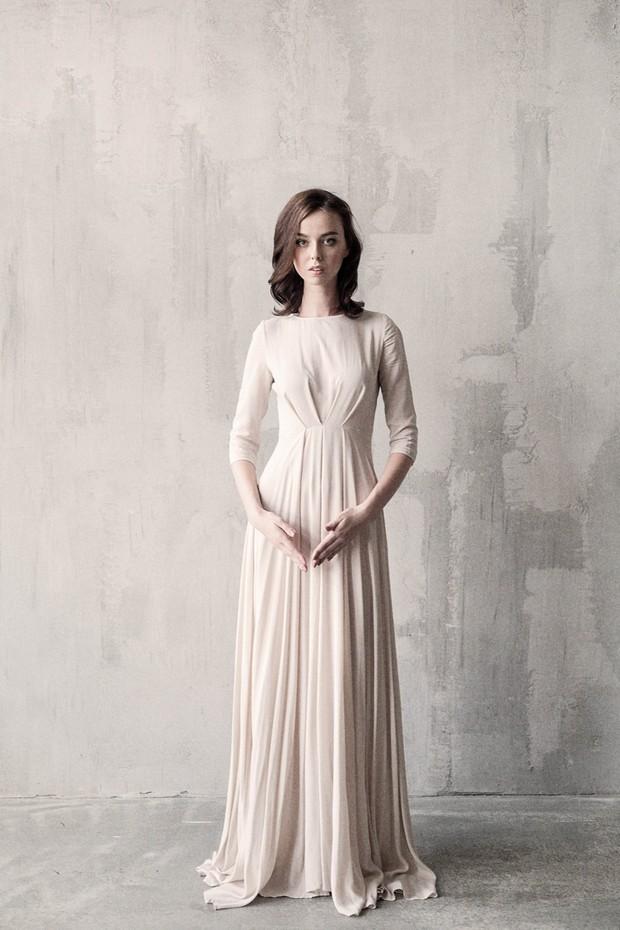 vestido-de-novia-color-cafe-manga-larga-cathytelle-etsy