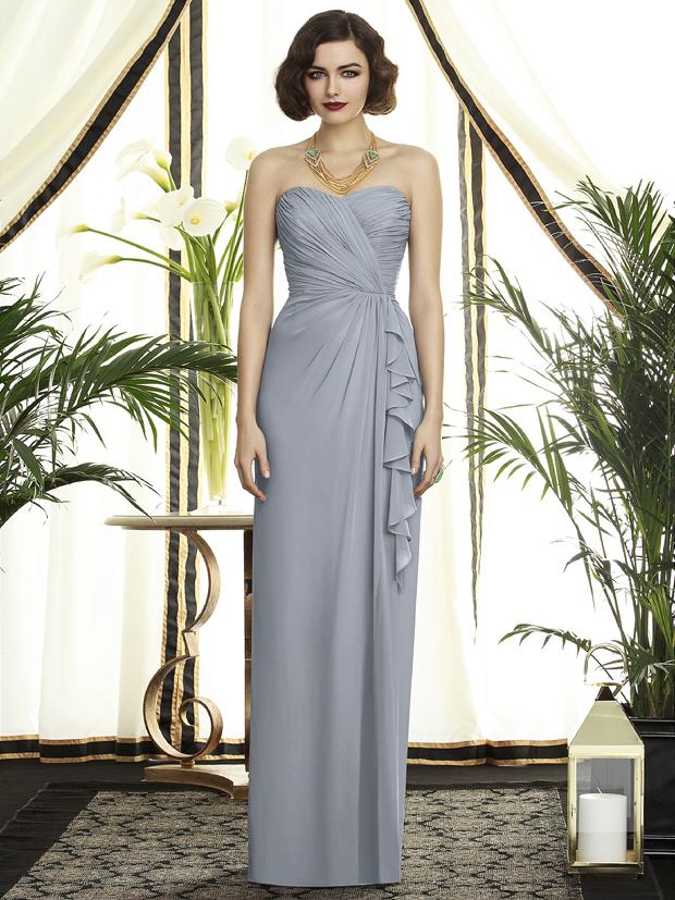 20 Gorgeous Grey Bridesmaid Dresses   weddingsonline