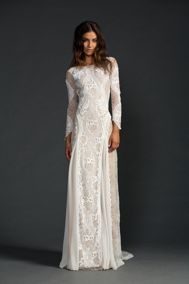 40+ Lush Long Sleeve Wedding Dresses | weddingsonline