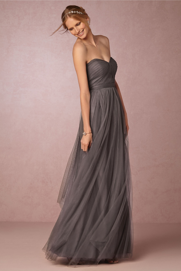 grey-bidesmaid-dress-BHLDN