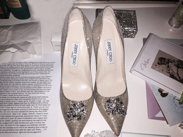 lisa-cannon-jimmy-choo-wedding-shoes