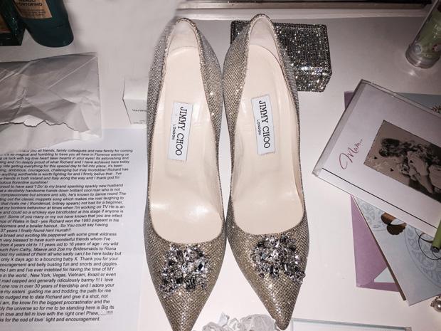 lisa-cannon-jimmy-choo-wedding-shoes