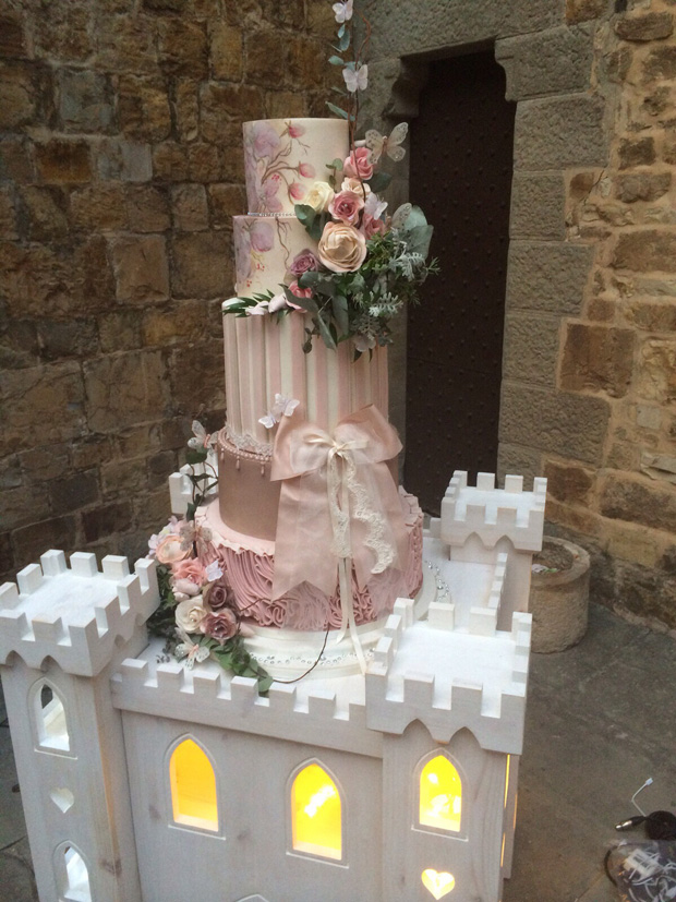 lisa-cannon-wedding-cake