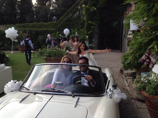 lisa-cannon-wedding-car