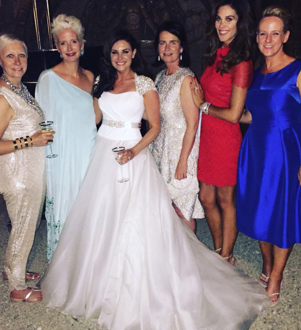 lisa-cannon-wedding-lisa-with-xpose-girls