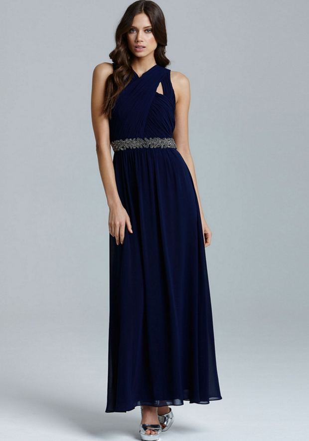 20 Beautiful Navy Bridesmaid Dresses | weddingsonline