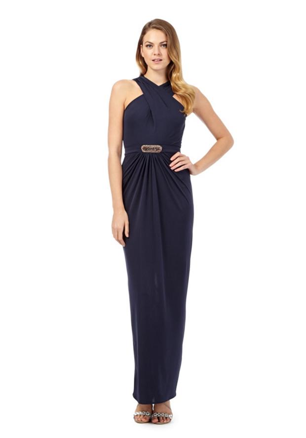 no1jenny_packham_navy_bridesmaid_dress