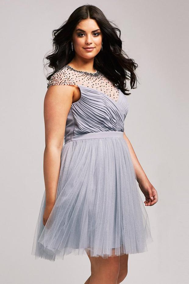 plu-size-grey-bridesmaid-dress-little-mistress