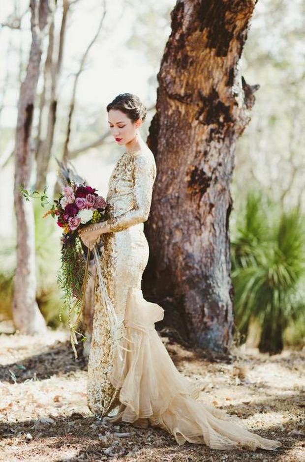 elegante-novia-oro-lentejuelas-completo-vestido-de-novia-vintage