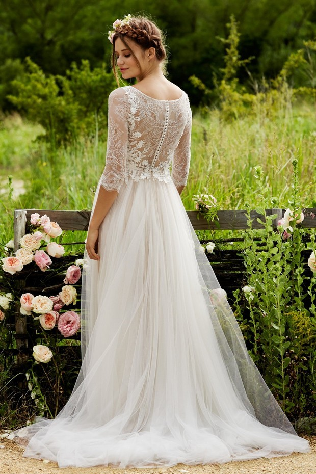 Wedding Dresses Detailed Lace Back Amelie Love Marley