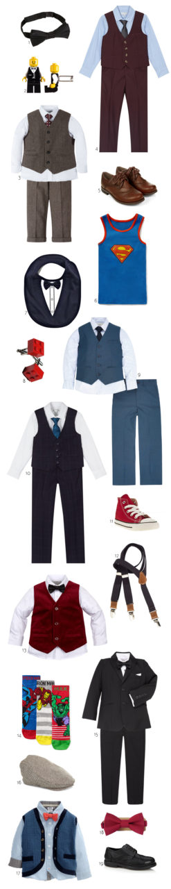 The Cutest Suits & Accessories for Your Winter Page Boy ...