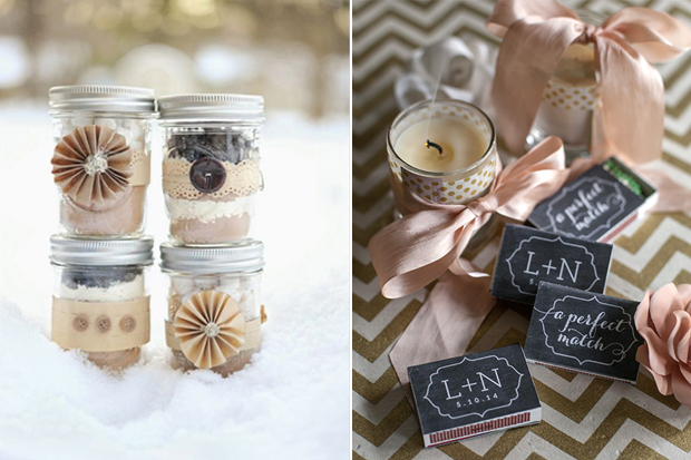 10 Oh So Lovely Winter Wedding Favours