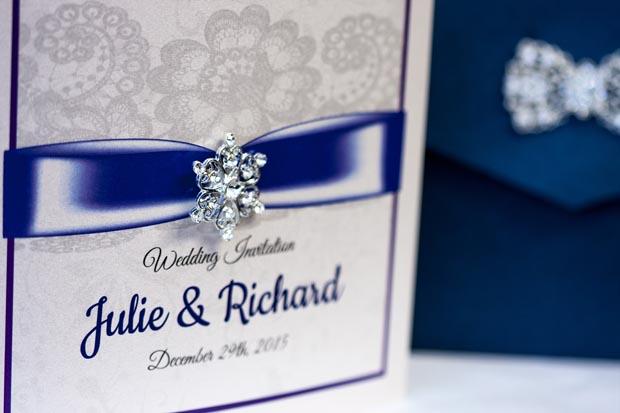 23 Stunning Winter Wedding Invitations | weddingsonline