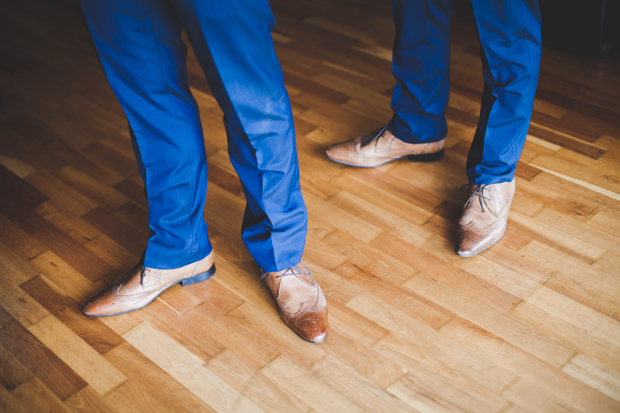 1-stylish-groomsman-accessories-brown-shoes-navy-suit