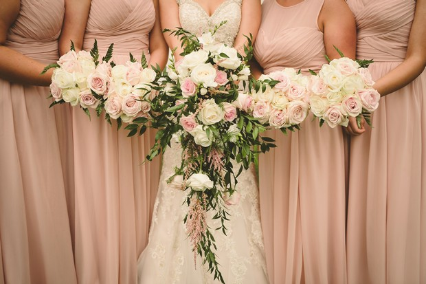 22-bridesmaids-pale-blush-pink-ruched-dresses-long (1)