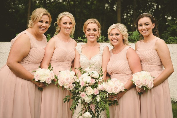 22-bridesmaids-pale-blush-pink-ruched-dresses-long (2)
