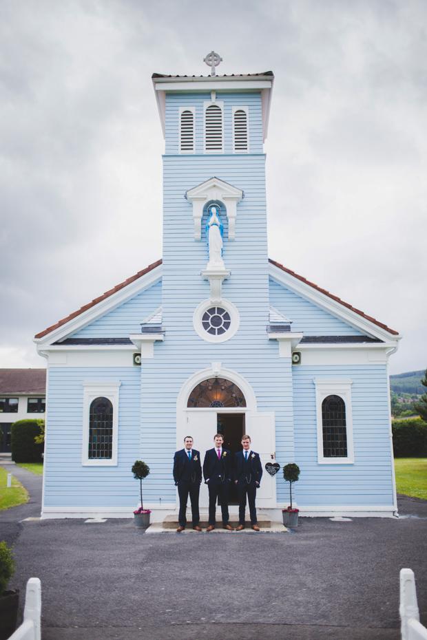 22-kilternan-blue-wooden-church-wedding