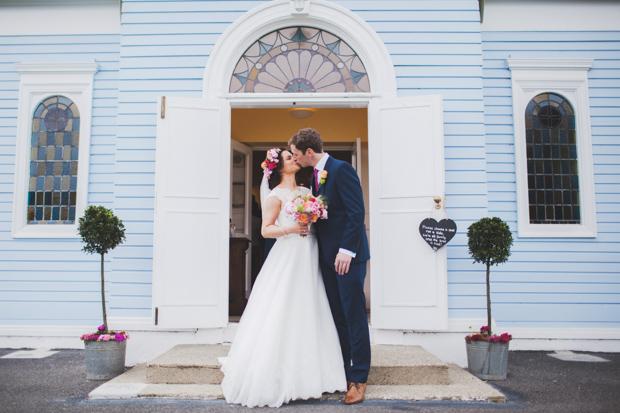 28-Cute-Vintage-Church-Dublin-Blue-Wedding