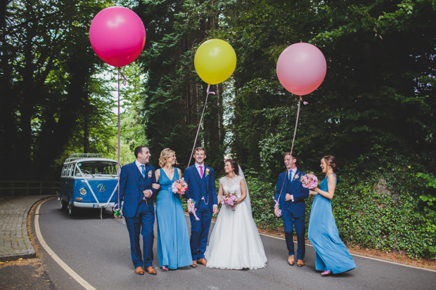 28-Wedding-Party-with-Colourful-Oversized-Balloons