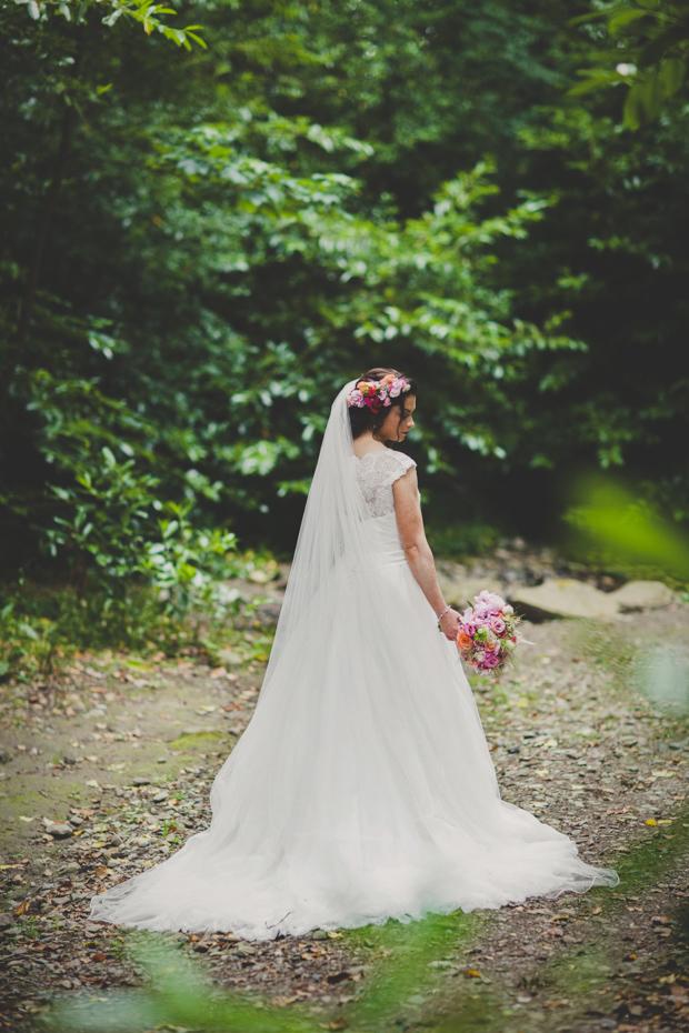 30-Forest-Wedding-Photos-Floral-Bride (3)
