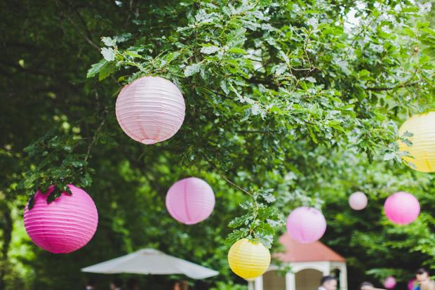 33-Garden-Wedding-Decor-Ideas-Colourful-Paper-Lanterns