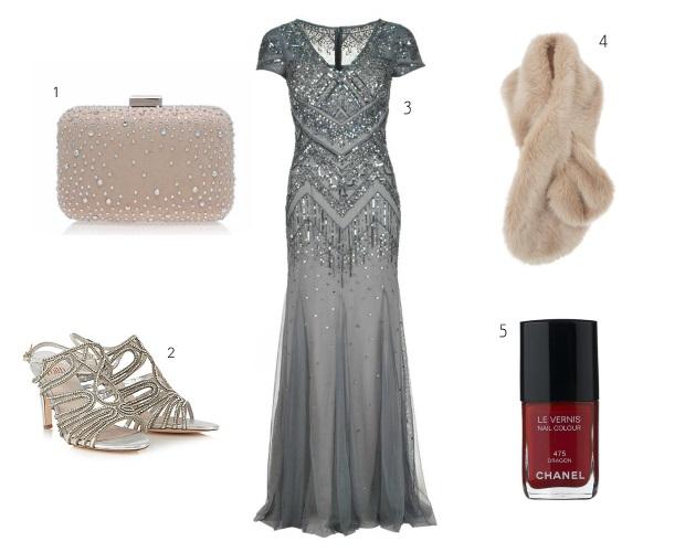 Black Tie Winter Wedding Guest Dress on weddingsonline