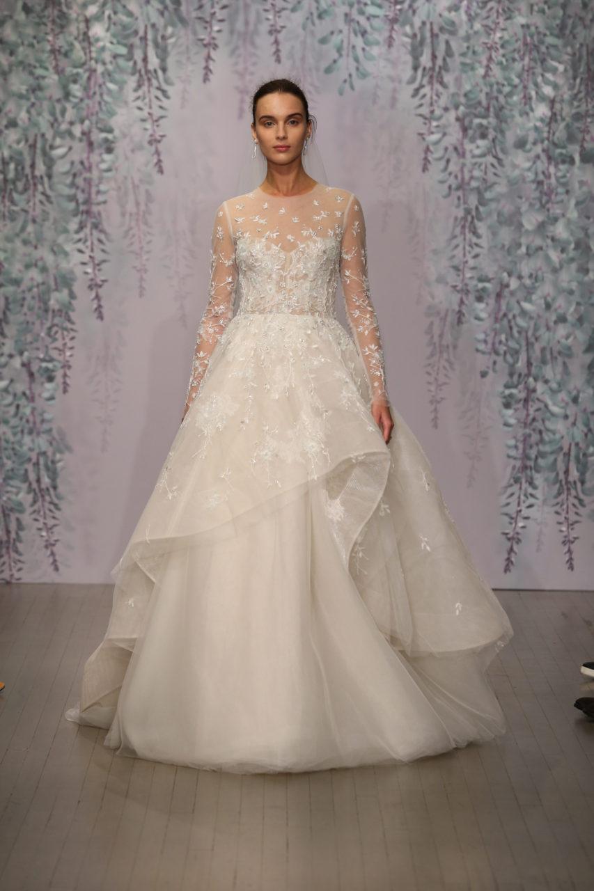 The magical fall 2016 monique lhuillier collection for Wedding dress monique lhuillier