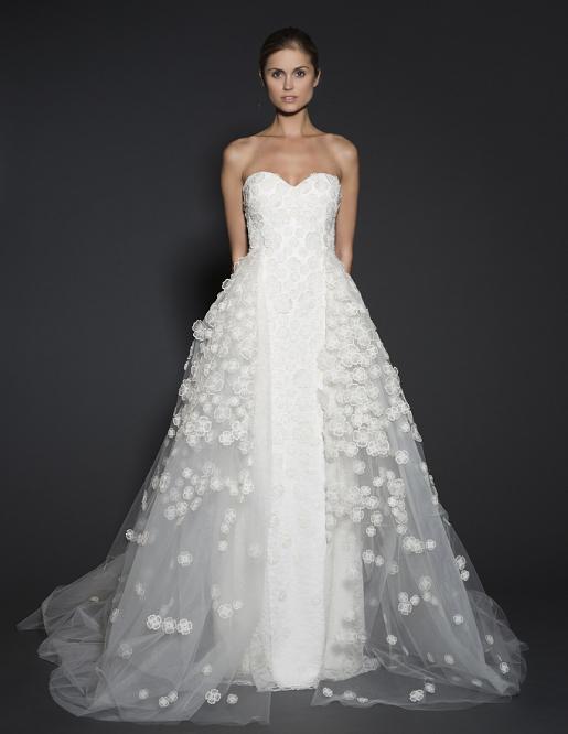 28 breathtaking winter wedding dresses for 2016 weddingsonline winterweddingdressesnaeemkhanfall2016 junglespirit Images