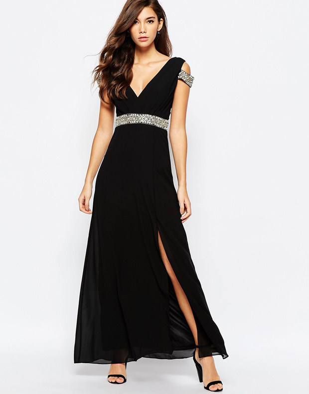 asos-black-bridesmaid-dress