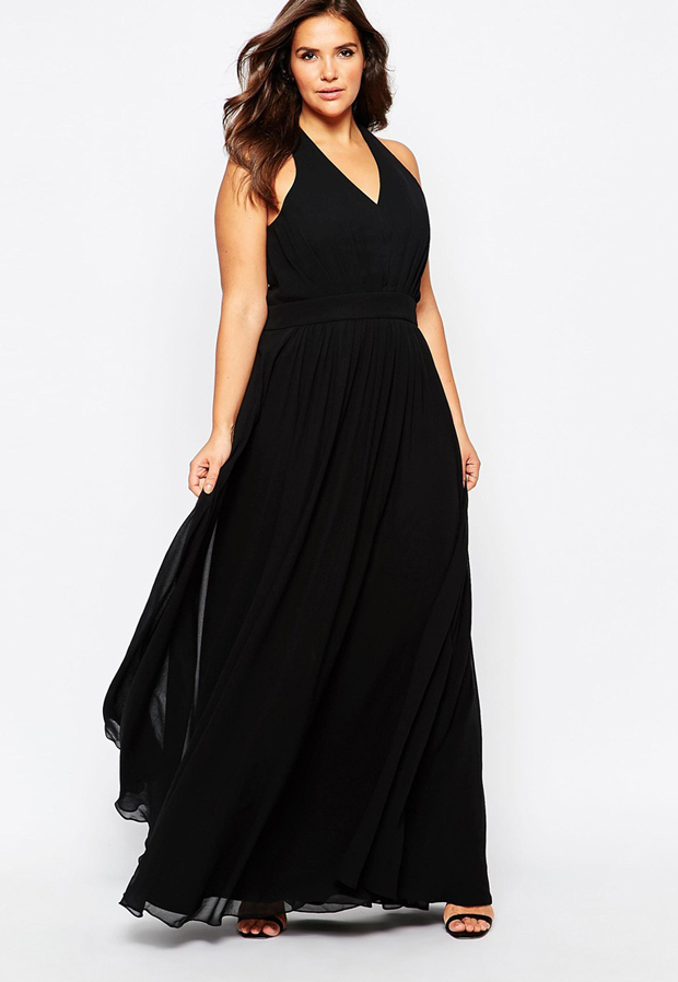 black-bridesmaid-dress-ASOS