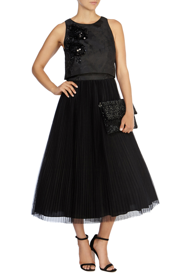black-bridesmaid-dress-coast-embellished