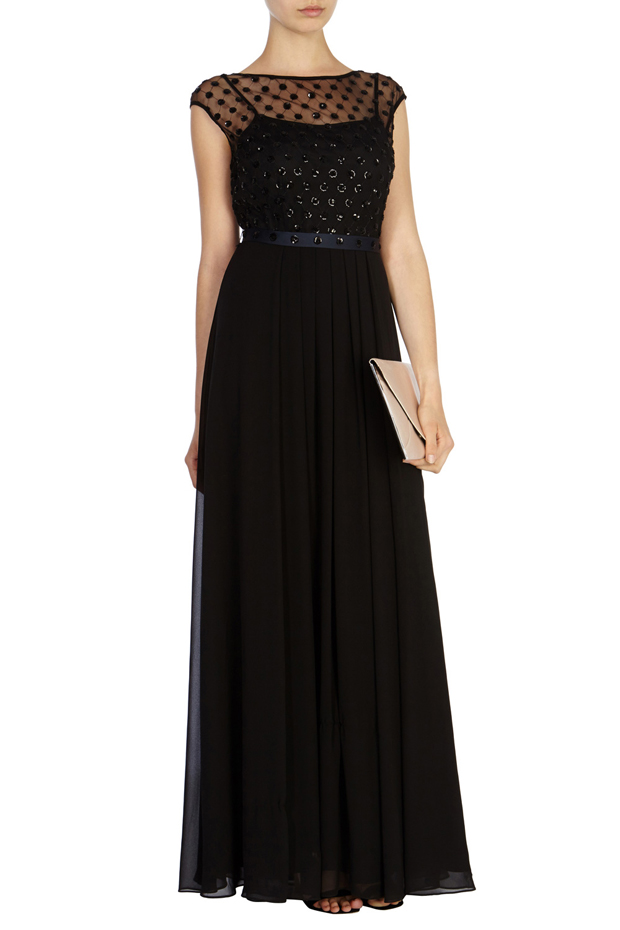 black-bridesmaid-dress-embellished-lori-lee
