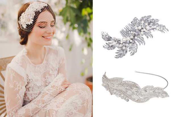 22 Stunning Sparkly Bridal Hair Accessories