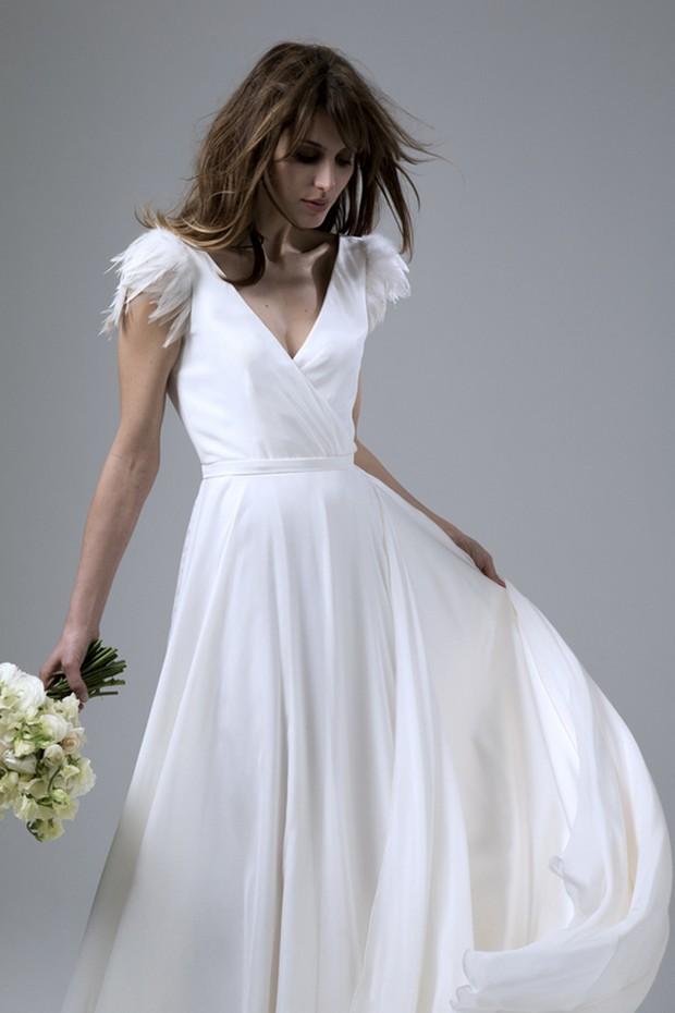 halfpenny-london-winter-wedding-dress-feather-cap-sleeves