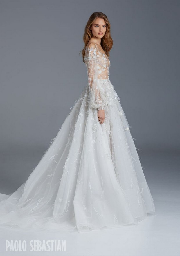 Paolo Sebastian Winter Wedding Dresses