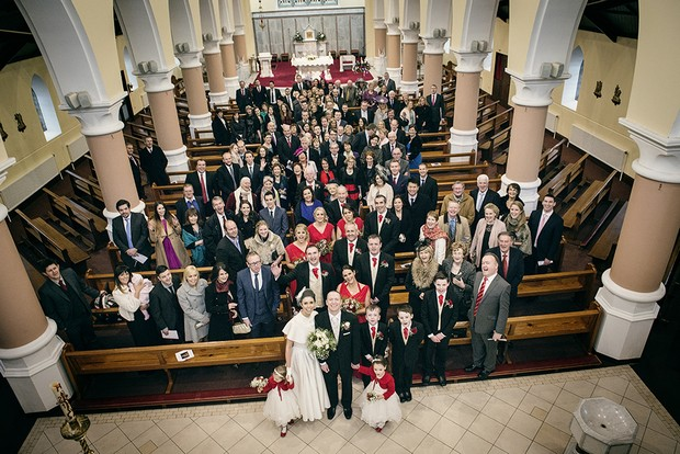 16_Full_Wedding_Party_Guests_Photo_in_Church