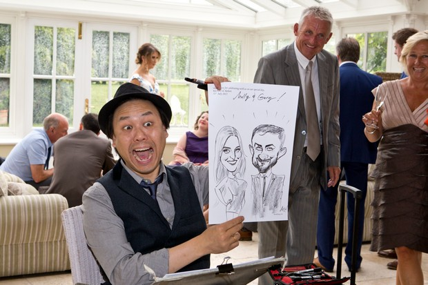 16_Wedding_Entertainment_Ideas_Caricatures