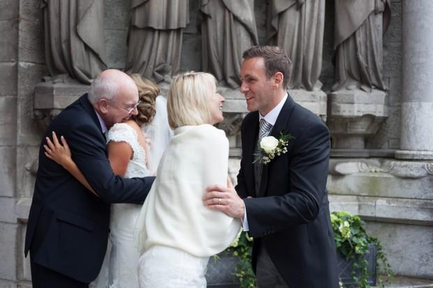 19_Wedding_Recieving_Line_Church